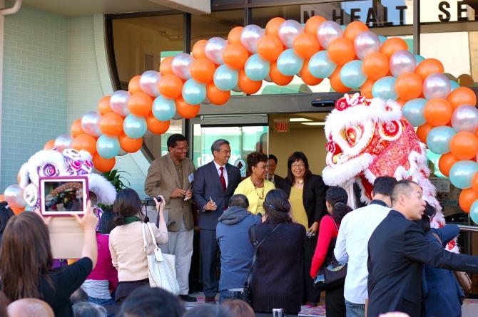 New Clinic Ribbon Cutting Ceremony