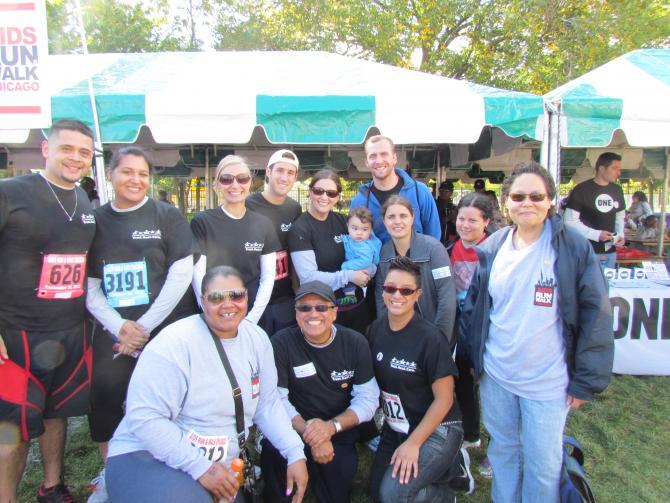Erie Lending Hands For Life- 2012 AIDS Walk