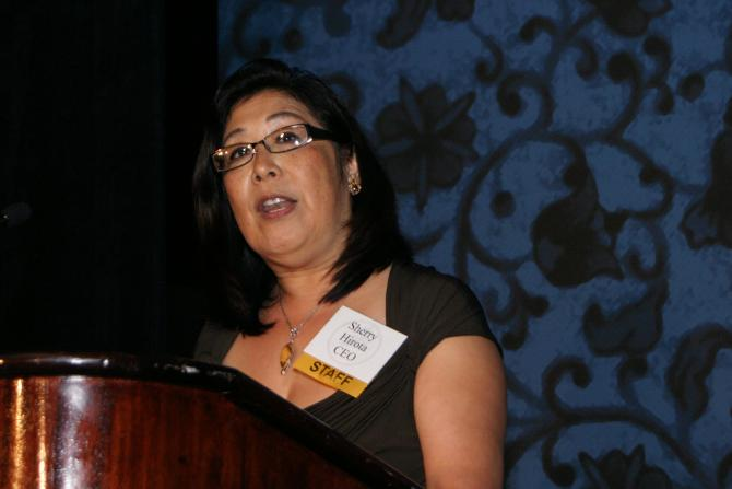 Sherry Hirota, CEO of Asian Health Services