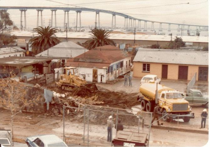 The Demolition of the Building