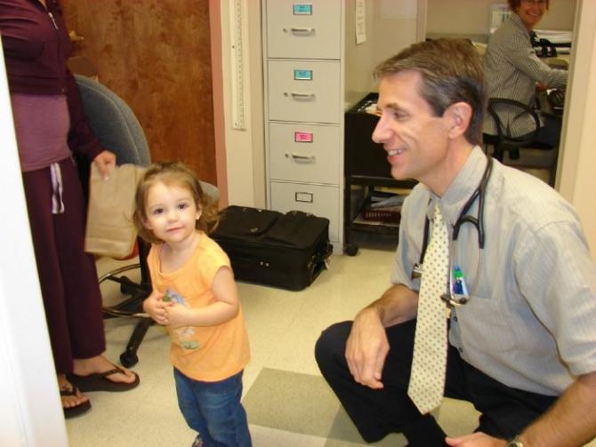 Nurse Practitioner Chris Hartigan