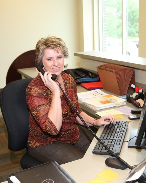FDC Marceline Receptionist Joy Boley