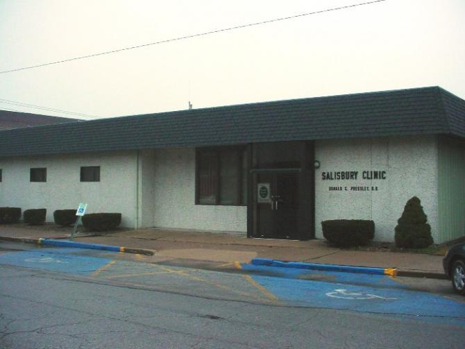 Salisbury Clinic Before Renovation