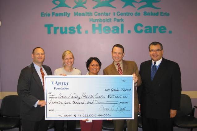 Aetna Foundation Donation