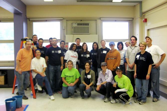 Aetna Hewitt Volunteer Day