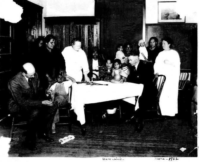 Baby Clinic, 1922