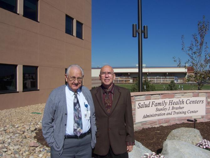 Stanley 'Jerry' Brasher and Dr. Virgilio Licona
