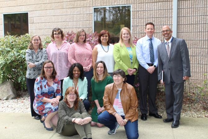 NCCHCA staff with two visitors from HRSA