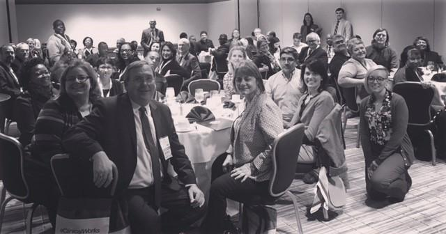 NCCHCA members (including staff and boards of member CHCs) at P&I in Washington, DC in 2017.